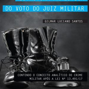 Livro – ESTRUTURA ANALÍTICA DO VOTO DO JUIZ MILITAR