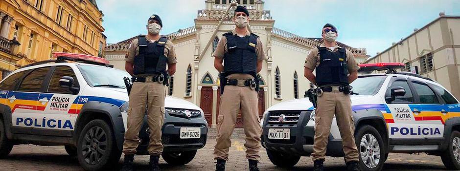 Polícia Militar mantém atuação contra aglomerações no Réveillon