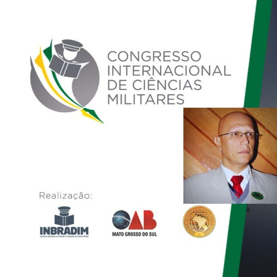 Professor Lier Pires no Congresso Internacional de Ciências Militares